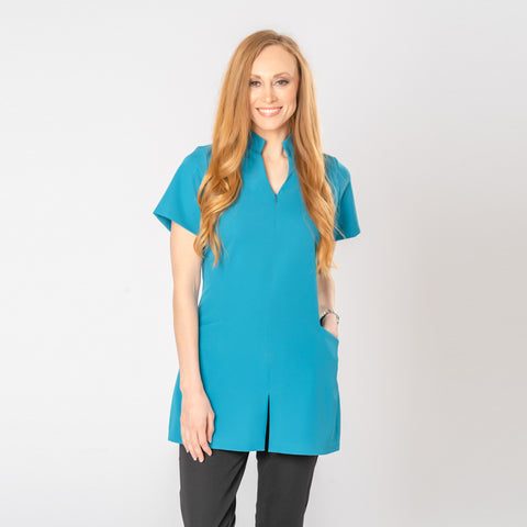 Allure Beauty Tunic in Teal