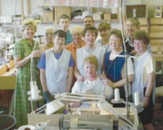 Salonwear UK Factory in 1994