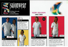 Salonwear Brochure from 2000 - The First Salon Wear Brochure