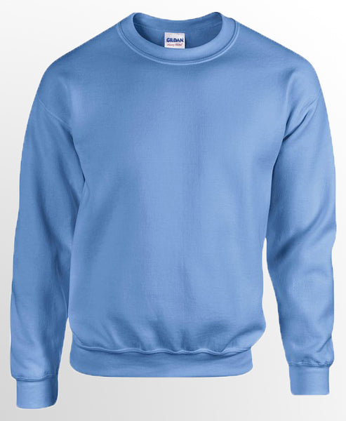 Gildan Unisex Heavy Blend Sweatshirt Pastel Colours