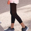 Women's 3/4 Length Black Leggings