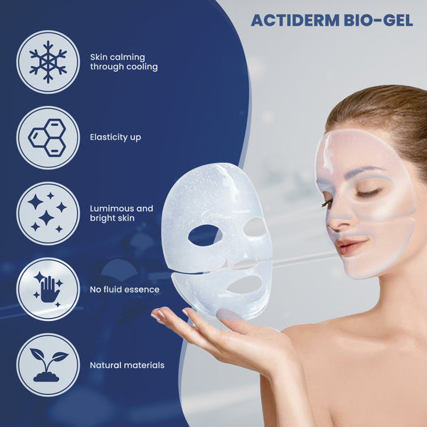 Skin Culture - Actiderm Bio-Gel Mask - 5 Sheets