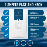 Mutoface Face & Neck Mask - 10 Sheets