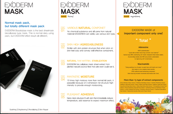 best korean sheet mask - 5 sheets