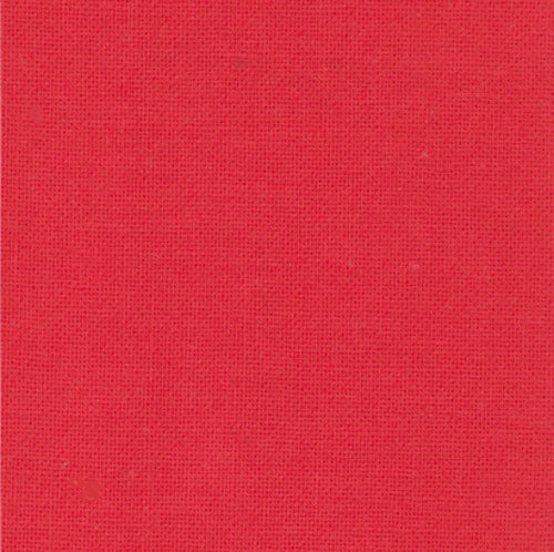 Moda Bella Solid 123 - Betty's Red by the half yard