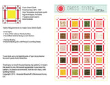 Cross Stitch pattern sample page image