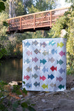 Simple Fish Quilt Pattern ONLY - PDF Pattern