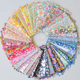 Liberty of London fabrics in circular layout monthly club