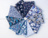 "Liberty ""Deep Blue Sea"" Fat Quarter Bundle"