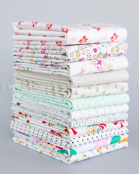 Inside Voices Spring Fat Quarter - 12 pieces