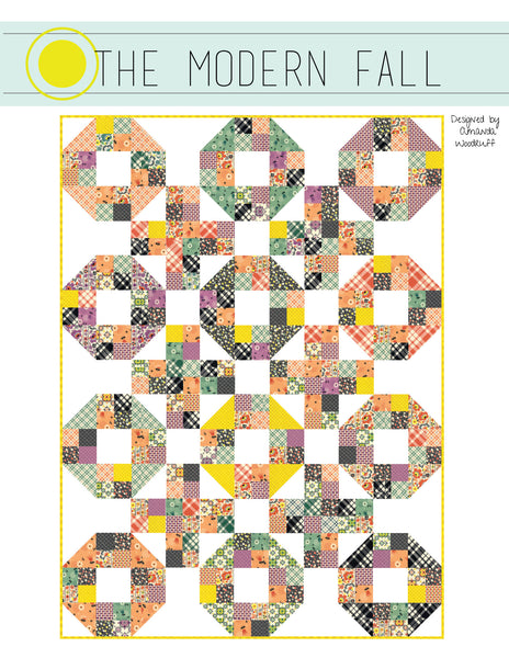 The Modern Fall Quilt Pattern - PDF Pattern
