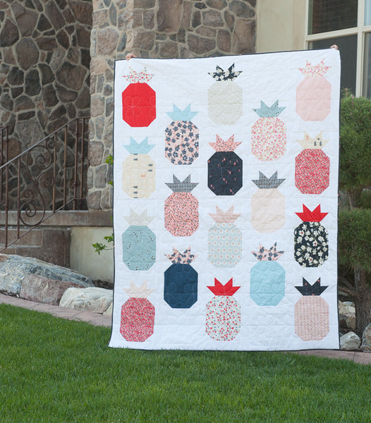 Westwood Acres Fabric Hospitality Pineapple Quilt Pattern Pdf