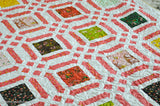 cross stitch quilt pattern sample image