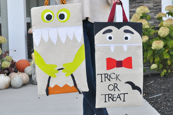 Trick or Treat Bags - PDF Pattern