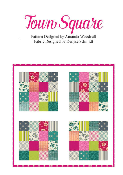 Town Square Digital Pattern