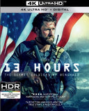 13 Hours: The Secret Soldiers Of Benghazi 4K Ultra HD+Blu-ray+Digital), Dolby, AC-3) 2019 Rated: R Release Date 6/11/19