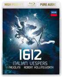 1612: Italian Vespers Classical (Blu-ray) High Fidelity Pure Audio  96kHz 24/bit DTS-HD Master Audio 2014