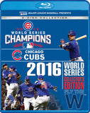 2016 World Series Champions Chicago Cubs (8 Blu-ray) Deluxe Collectors Edition 8 Full Game Broadcast Includes Postseason Bonus Games 2016 12-13-16 Release Date