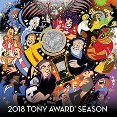 2018 Tony Awards Season / Various Artist CD 2018 Release Date 6/8/18