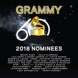 2018 Grammy Nominees: 60TH Grammy Awards (Various Artists) CD 2018 Release Date 1/12/18