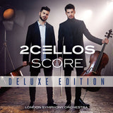 2 Cellos: Score Deluxe Edition CD/DVD  16 CD Tracks -18 Live DVD Performances 2017 Release Date 8/25/2017