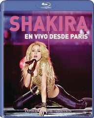 Shakira: En vivo desde París ( Live from Paris) Blu-ray 2011 DTS-HD Master Audio