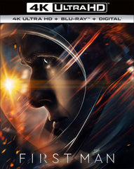 First Man: 4k Ultra HD+Blu-Ray+Digital 2019 Release Date: 1/22/19