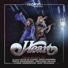 "Heart: Live In Atlantic City ""VH1 Decades Rock Live 2006"" CD/DVD Release Date 1/25/19"