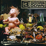 3 Doors Down: Seventeen Days Import CD 2005 Bonus DVD