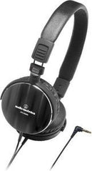 Audio Technica ATH-ES500BK Headphones Spiral-Brushed- High-Grade Aluminum 40mm Drivers 10-25,000Hz