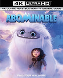 Abominable (4K Ultra HD+Blu-ray+)  2 Pack) Rated: PG 2019 Release Date: 12/17/19