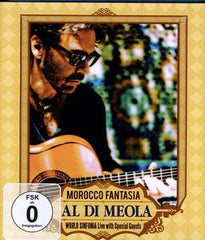 Al Di Meola: Morocco Fantasia 2009 DVD 2012 16:9 DTS 5.1 Out Of Print (Rare)