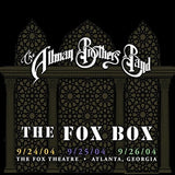 Allman Brothers: The Fox Box 3 Nights Live Atlanta Georgia 2004 (Boxed Set Slipsleeve Packaging 8PC) CD 2017 Release Date 5/12/17