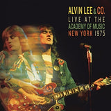 Alvin Lee & Co. Live At The Academy Of Music New York 1975 CD 2017 Release Date 10/27/17