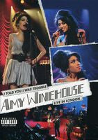 Amy Winehouse: I Told You I Was Trouble: Live From London's Shepards Bush  2007 DVD 2007 16:9 Dolby Digital