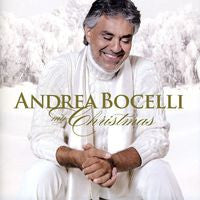 Andrea Bocelli: My Christmas 2009 Deluxe CD/DVD Edition 2010 Special Guests Natalie Cole, David Foster & more