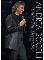 Andrea Bocelli: Under The Desert Sky Live Lake Las Vegas Resort Deluxe CD/DVD Edition 2006 16:9 Dolby Digital 5.1