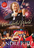Andre Rieu: What a Wonderful World Music for a Better World Johann Strauss Orchestra Live The Magic of Maastricht (Blu-ray) DTS-HD Master Audio 2017 Release Date 12/01/17