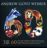 Andrew Lloyd Webber: 60 The Very Best Of [Box Set] [Deluxe Edition Import]  3CD Various 2008 Release Date 10/14/08