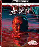 Apocalypse Now: Final Cut (40th Anniversary Edition) Boxed Set (4K Ulltra HD+Blu-ray+Digital)  2019 Rated R Release Date 8/27/19