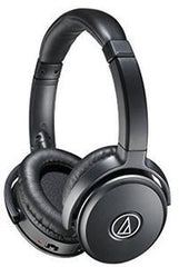 Audio Technica ATH-ANC50IS Over Ear Active  Headphones 40mm Drivers W/Smartphone Connectivity Free Shipping USA