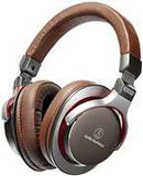 Audio Technica ATH-MSR7GM Hi-Res-Premium 45mm Drivers  Over Ear Portable (Gray, Brown, With Microphone, Audiophile, Over-Ear Headphones)