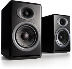 "Audioengine AP4B Passive Bookshelf Speakers 4"" Two Way Kevlar Woofer Dome Tweeter Includes Shipping USA"