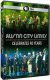Austin City Limits: PBS Austin City Limits Celebrates 40 Years 2014 DVD 2014: Performances by Willie Nelson, Bonnie Raitt, Lyle Lovett, Foo Fighters, Jimmie Vaughan, Alabama Shakes & More 16:9 DTS 5.1