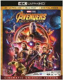 Avengers: Infinity War (4K Ultra HD+Blu-ray+Digital)  4K Mastering, 2 Pack 2018 Rated: PG13 Release Date 8/14/18