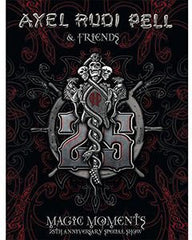 Axel Rudi Pell & Friends: Magic Moments 25th Anniversary Special Show  Balingen Germany 2014 CD/DVD/Blu-ray 2015