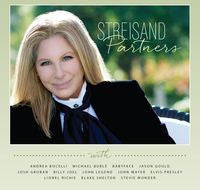 Barbra Streisand: Partners CD 2014 Duets with Elvis Presley, Michael Buble, Stevie Wonder, Billy Joel, Lionel Richie, Andrea Bocelli and others. Pre-Order 9-16-14 Release Date