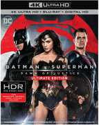 Batman V Superman: Dawn Of Justice  (4K Mastering, Ultimate Edition, 2 Pack, 2PC) Starring: Henry Cavill, Amy Adams 2016 07-19-16 Release Date