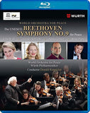 Beethoven: Beethoven Symphony NO. 9 Two Live  Performances UK-Germany WURTH 2018 (Blu-ray) DTS-HD Master Audio 2019 Release Date 6/28/19