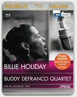 Billie Holiday: Live In Cologne 1954 Pure Fidelity (Blu-ray) Audio Only 96kHz/24bit 2015 DTS-HD Master Audio